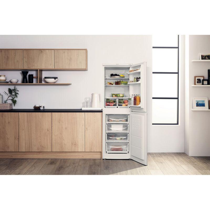Hotpoint-Fridge-Freezer-Free-standing-HBD-5517-W-UK-White-2-doors-Lifestyle-frontal-open