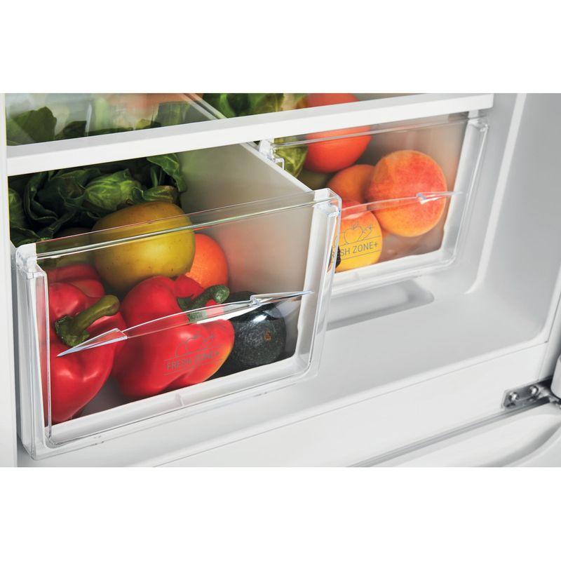 Hotpoint-Fridge-Freezer-Free-standing-HBD-5517-W-UK-White-2-doors-Drawer