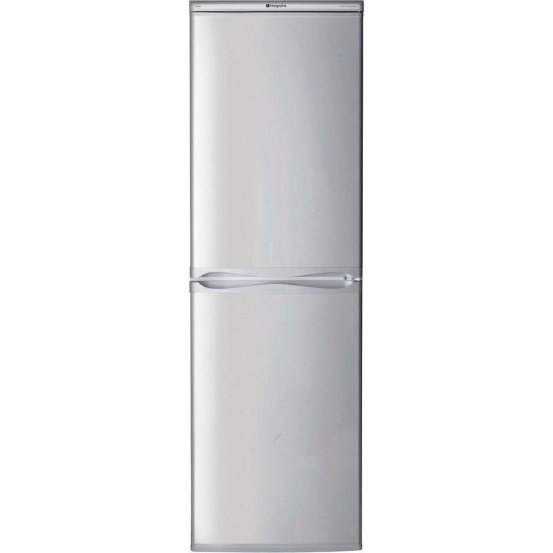 Hotpoint-Fridge-Freezer-Free-standing-HBD-5517-S-UK-Silver-2-doors-Frontal