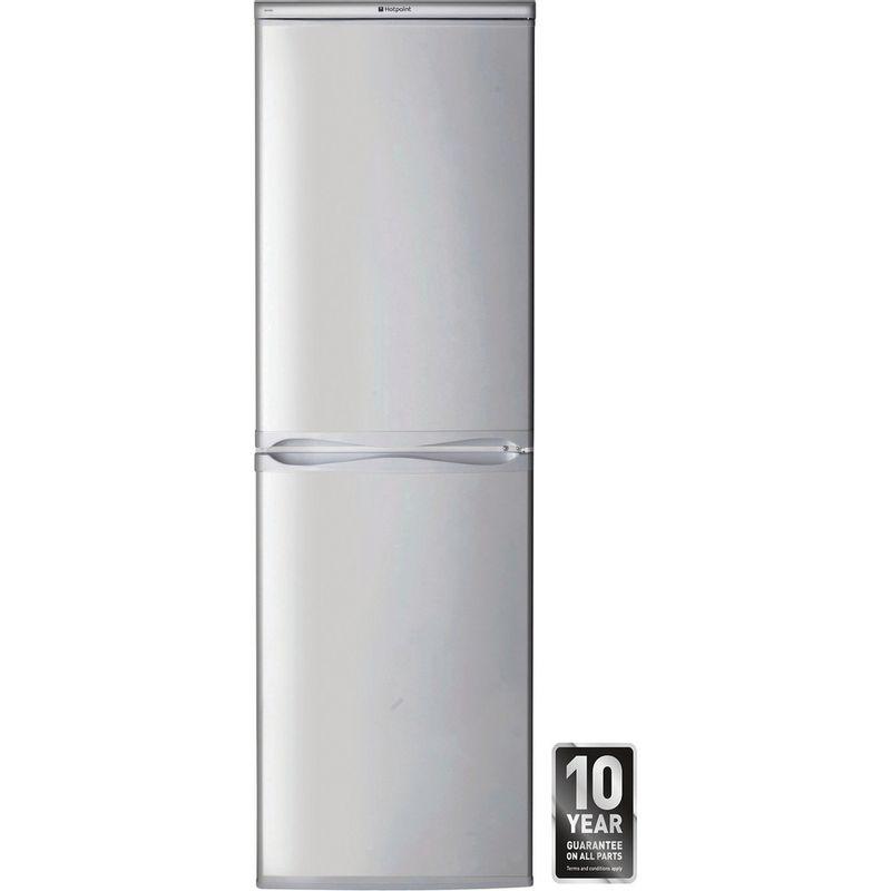 Hotpoint-Fridge-Freezer-Free-standing-HBD-5517-S-UK-Silver-2-doors-Award