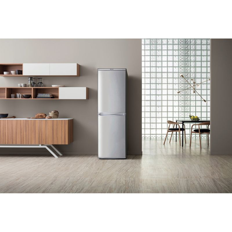 Hotpoint-Fridge-Freezer-Free-standing-HBD-5517-S-UK-Silver-2-doors-Lifestyle_Frontal