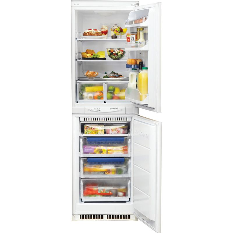 Hotpoint-Fridge-Freezer-Built-in-HM-325-FF.2.1-White-2-doors-Frontal_Open
