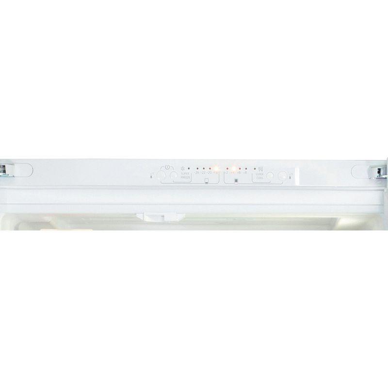 Hotpoint-Fridge-Freezer-Free-standing-FFU3D.1-W-White-2-doors-Control-panel