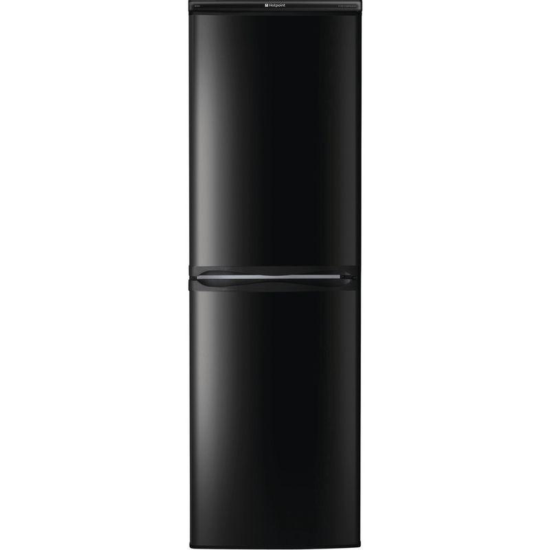 Hotpoint-Fridge-Freezer-Free-standing-HBD-5517-B-UK-Black-2-doors-Frontal