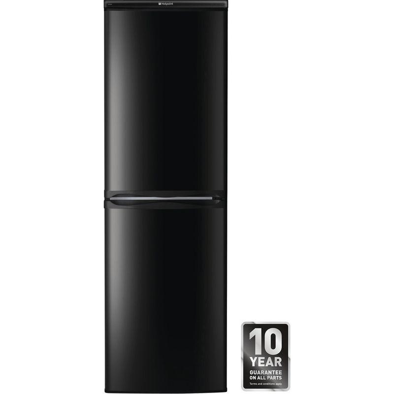 Hotpoint-Fridge-Freezer-Free-standing-HBD-5517-B-UK-Black-2-doors-Award