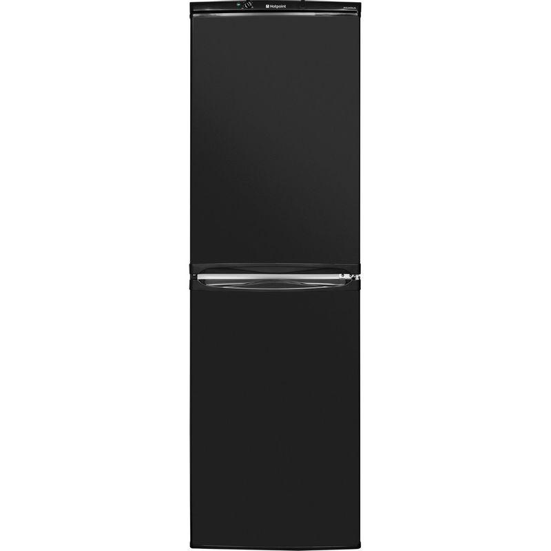Hotpoint-Fridge-Freezer-Free-standing-HBNF-5517-B-UK-Black-2-doors-Frontal