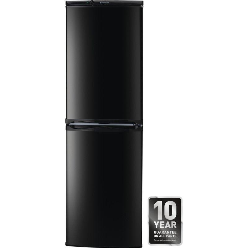Hotpoint-Fridge-Freezer-Free-standing-HBNF-5517-B-UK-Black-2-doors-Award