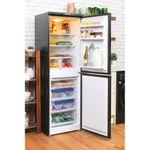 Hotpoint-Fridge-Freezer-Free-standing-HBNF-5517-B-UK-Black-2-doors-Lifestyle-perspective-open