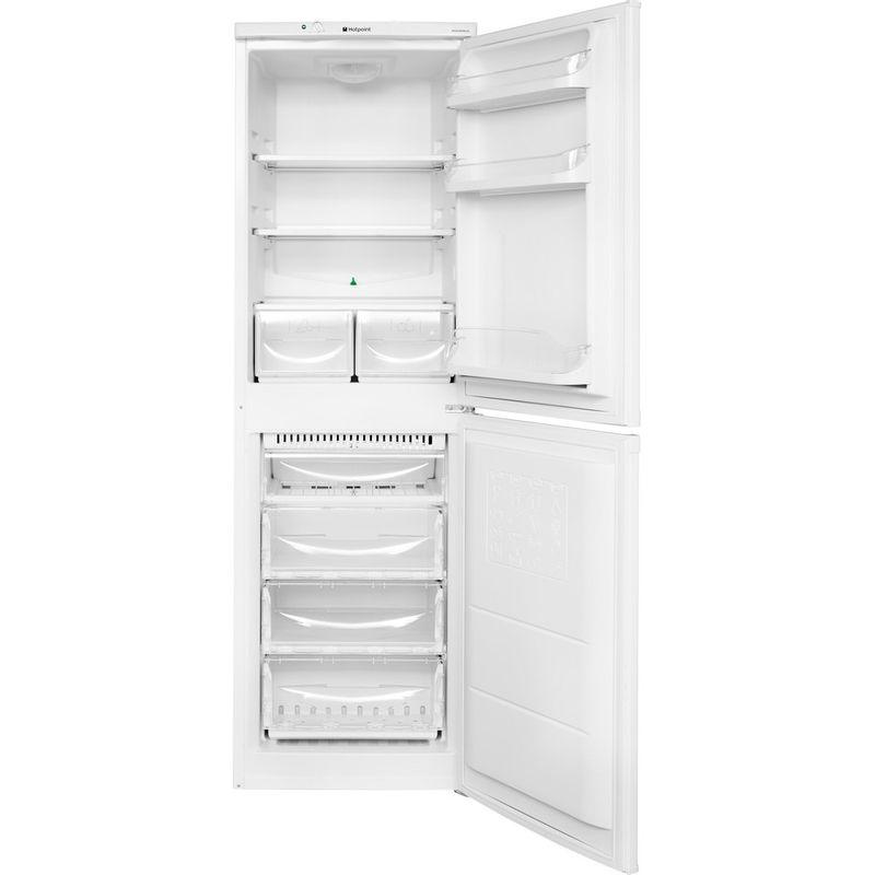 Hotpoint-Fridge-Freezer-Free-standing-HBNF-5517-W-UK-White-2-doors-Frontal-open