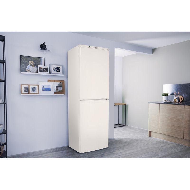Hotpoint-Fridge-Freezer-Free-standing-HBNF-5517-W-UK-White-2-doors-Lifestyle-perspective