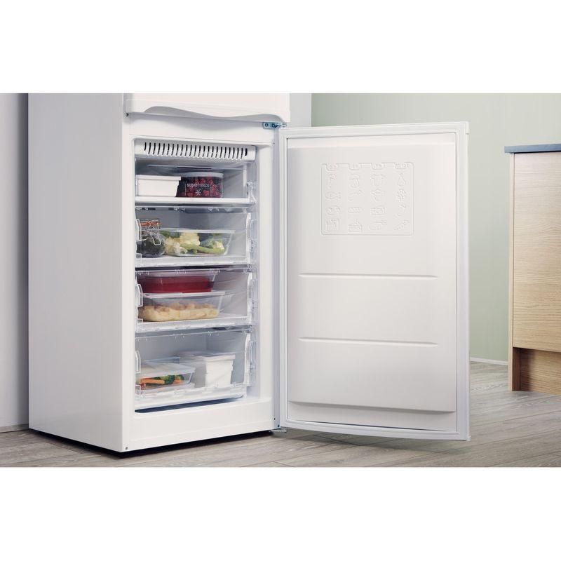 Hotpoint-Fridge-Freezer-Free-standing-HBNF-5517-W-UK-White-2-doors-Lifestyle-perspective-open