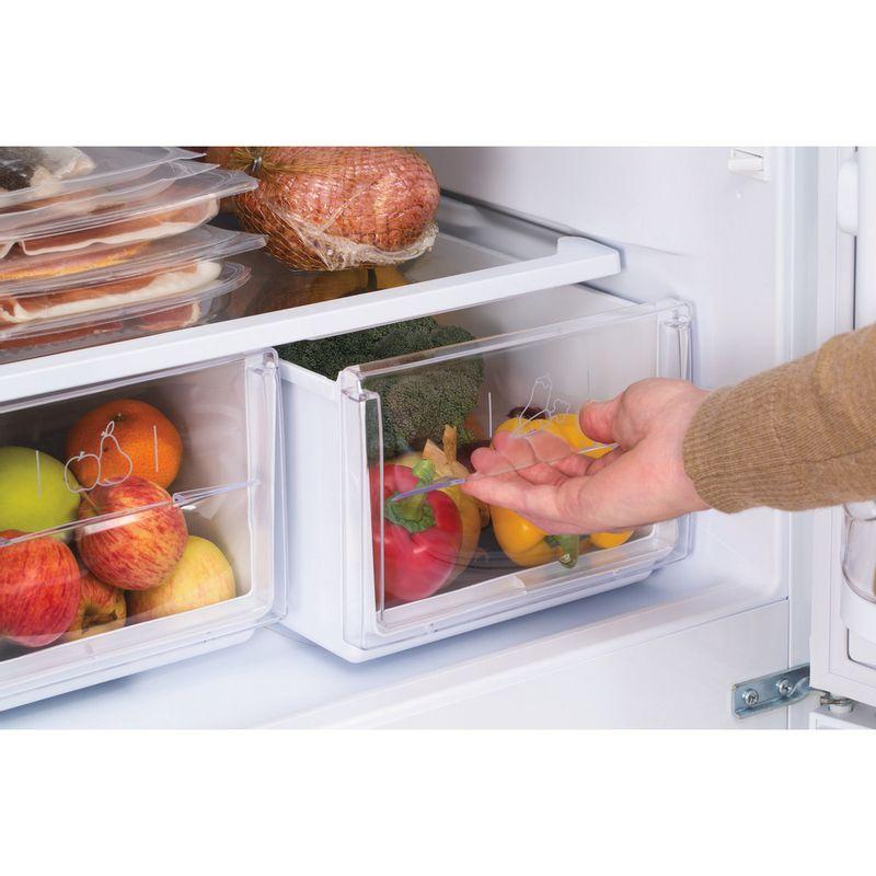 Hotpoint-Fridge-Freezer-Free-standing-HBNF-5517-W-UK-White-2-doors-Drawer