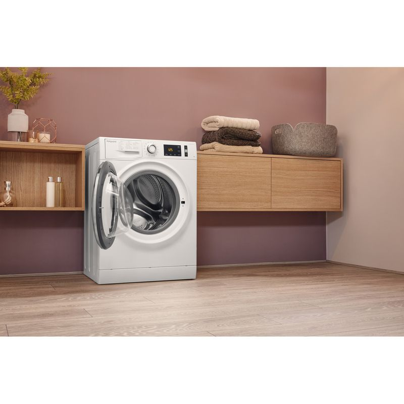 Hotpoint-Washing-machine-Free-standing-NM11-1045-WC-A-UK-White-Front-loader-A----Lifestyle_Perspective_Open