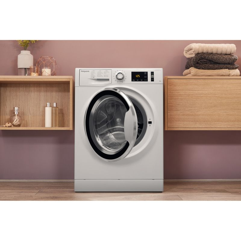 Hotpoint-Washing-machine-Free-standing-NM11-1045-WC-A-UK-White-Front-loader-A----Lifestyle_Frontal_Open