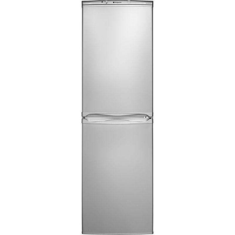 Hotpoint-Fridge-Freezer-Free-standing-HBNF-5517-S-UK-Silver-2-doors-Frontal