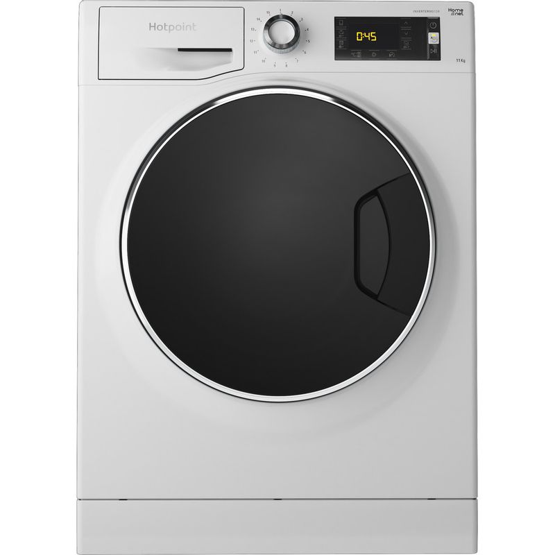Hotpoint-Washing-machine-Free-standing-NLLCD-1165-WD-ADW-UK-White-Front-loader-A----Frontal