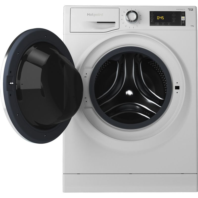 Hotpoint-Washing-machine-Free-standing-NLLCD-1165-WD-ADW-UK-White-Front-loader-A----Frontal_Open