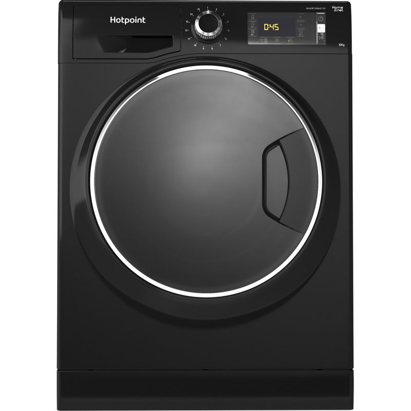 Hotpoint-Washing-machine-Free-standing-NLLCD-1065-DGD-AW-UK-Dark-Grey-Front-loader-A----Frontal