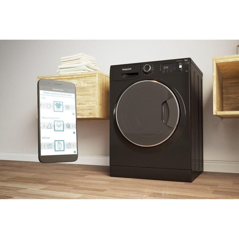 Hotpoint-Washing-machine-Free-standing-NLLCD-1065-DGD-AW-UK-Dark-Grey-Front-loader-A----Lifestyle_Perspective