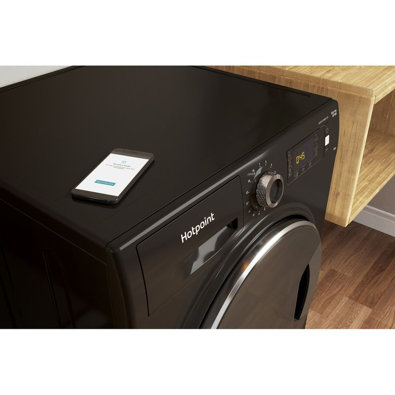 Hotpoint-Washing-machine-Free-standing-NLLCD-1065-DGD-AW-UK-Dark-Grey-Front-loader-A----Control_Panel