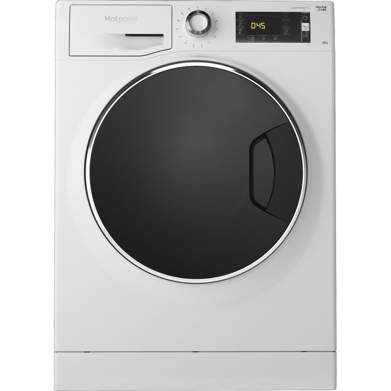 Hotpoint-Washing-machine-Free-standing-NLLCD-1045-WD-AW-UK-White-Front-loader-A----Frontal