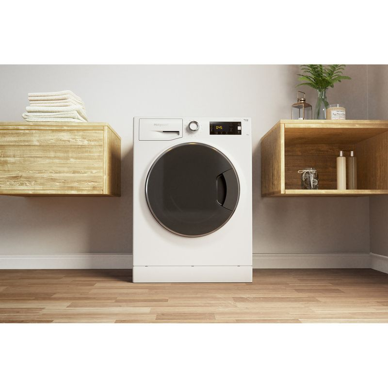Hotpoint-Washing-machine-Free-standing-NLLCD-1045-WD-AW-UK-White-Front-loader-A----Lifestyle_Frontal