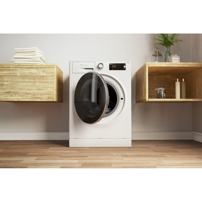 Hotpoint-Washing-machine-Free-standing-NLLCD-1045-WD-AW-UK-White-Front-loader-A----Lifestyle_Frontal_Open