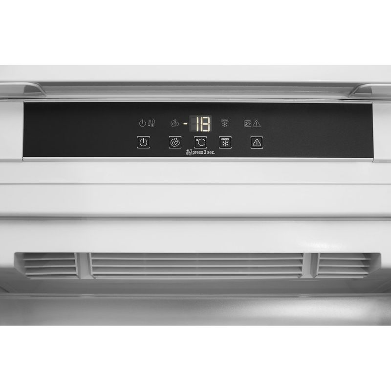 Hotpoint-Freezer-Built-in-HF-1801-E-F-AA.UK.1-White-Control_Panel