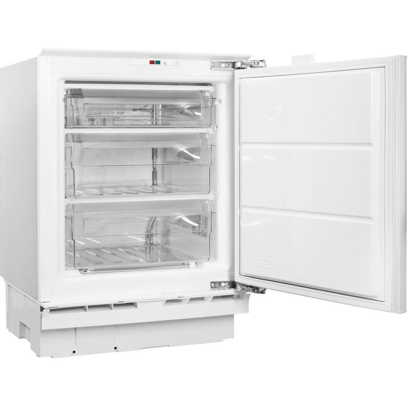 Hotpoint-Freezer-Built-in-HZ-A1.UK.1-Steel-Perspective-open