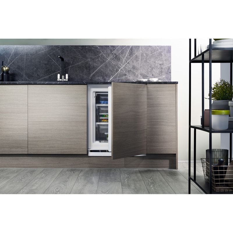 Hotpoint-Freezer-Built-in-HZ-A1.UK.1-Steel-Lifestyle-frontal-open