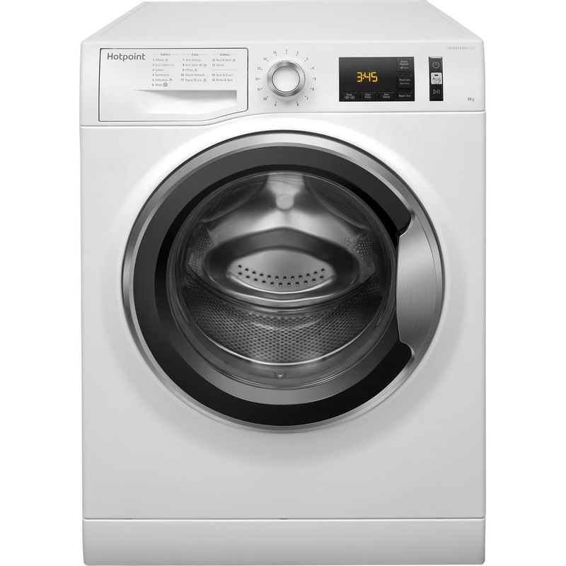 Hotpoint-Washing-machine-Free-standing-NM11-964-WC-A-UK-White-Front-loader-A----Frontal