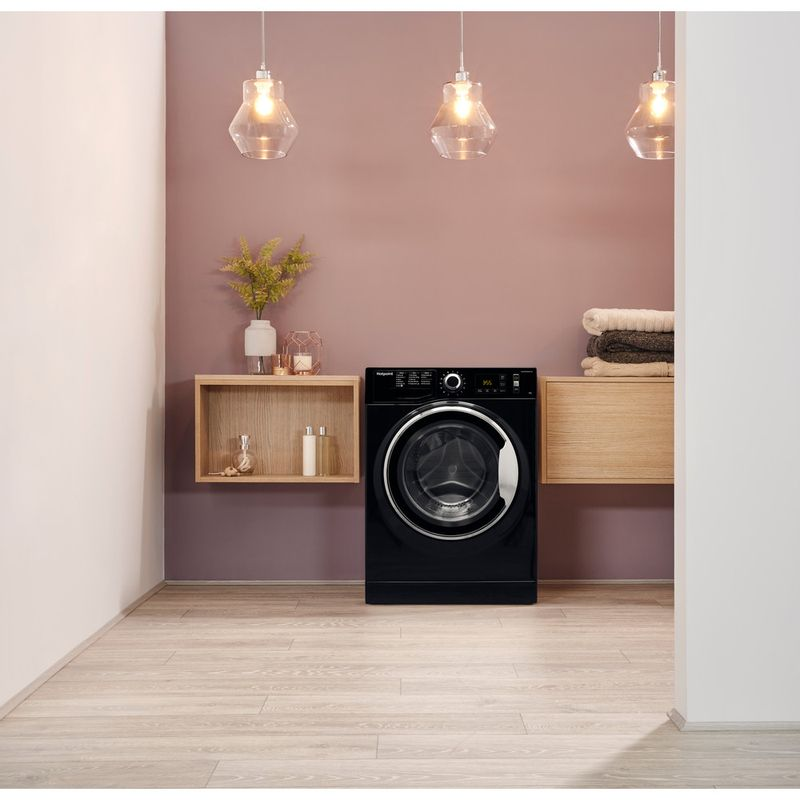 Hotpoint-Washing-machine-Free-standing-NM11-946-BC-A-UK-Black-Front-loader-A----Lifestyle_Frontal