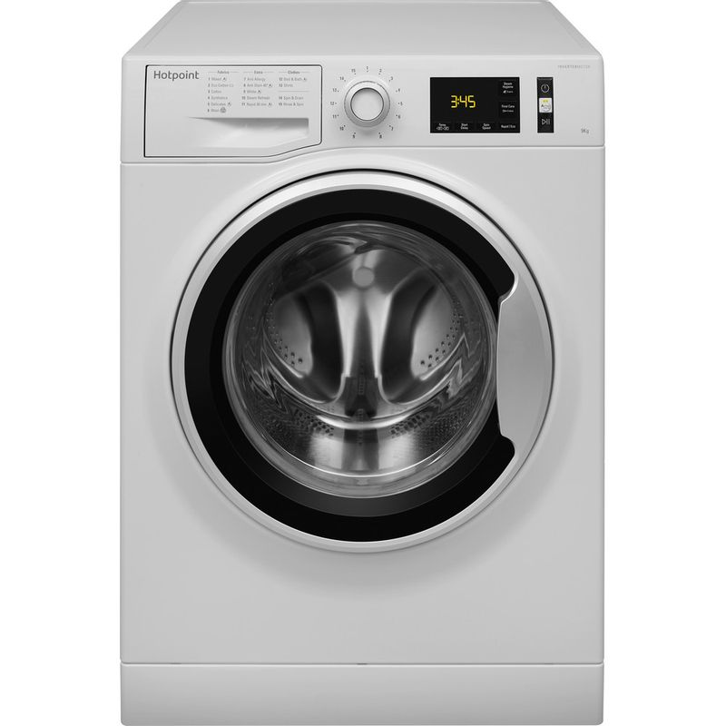 Hotpoint-Washing-machine-Free-standing-NM11-946-WS-A-UK-White-Front-loader-A----Frontal