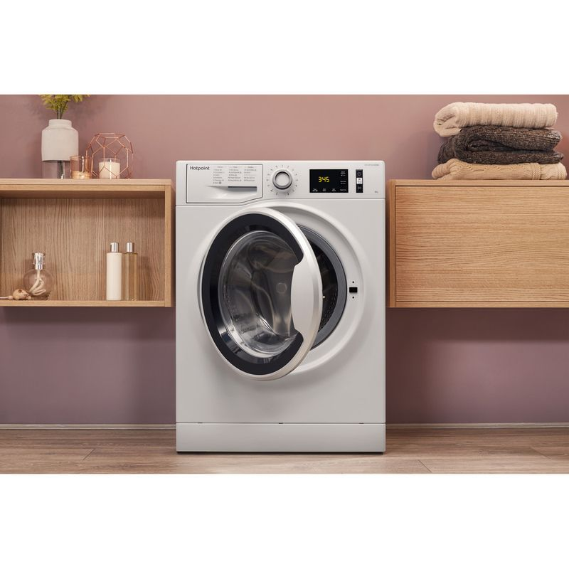 Hotpoint-Washing-machine-Free-standing-NM11-946-WS-A-UK-White-Front-loader-A----Lifestyle_Frontal_Open