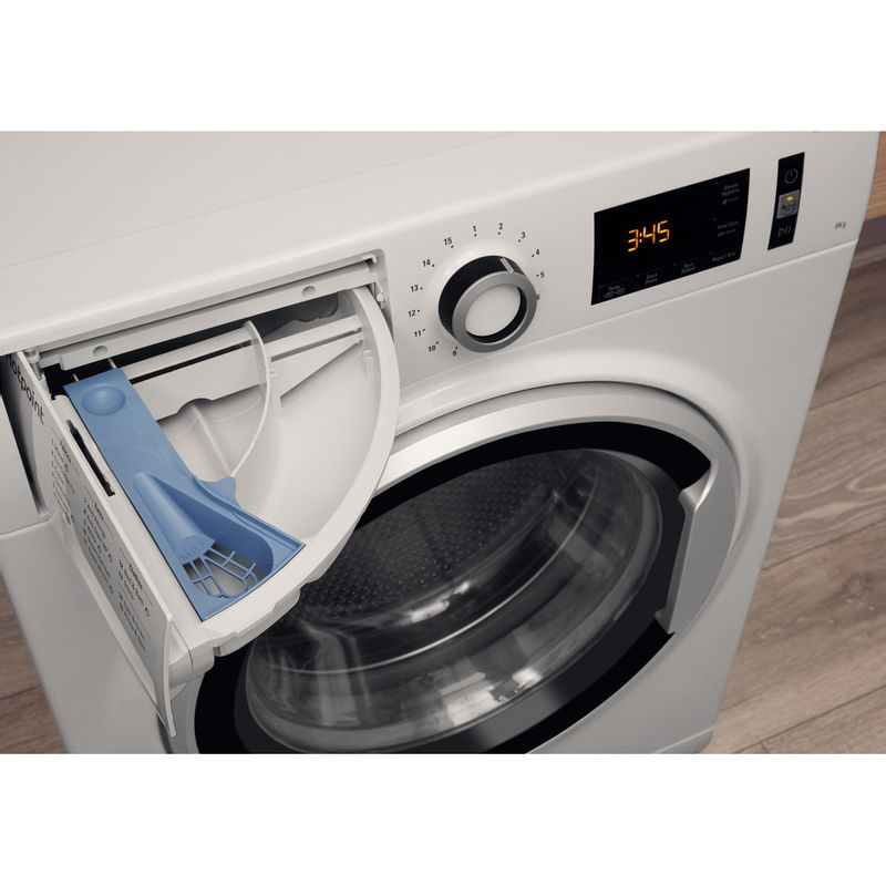 Hotpoint-Washing-machine-Free-standing-NM11-946-WS-A-UK-White-Front-loader-A----Drawer