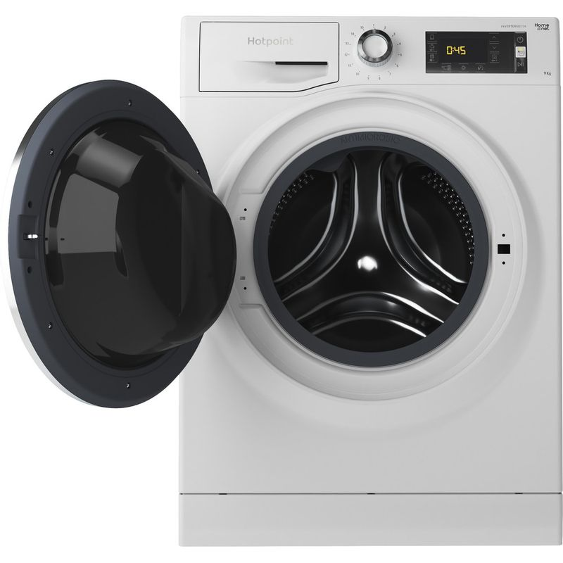 Hotpoint-Washing-machine-Free-standing-NLLCD-947-WD-ADW-UK-White-Front-loader-A----Frontal_Open