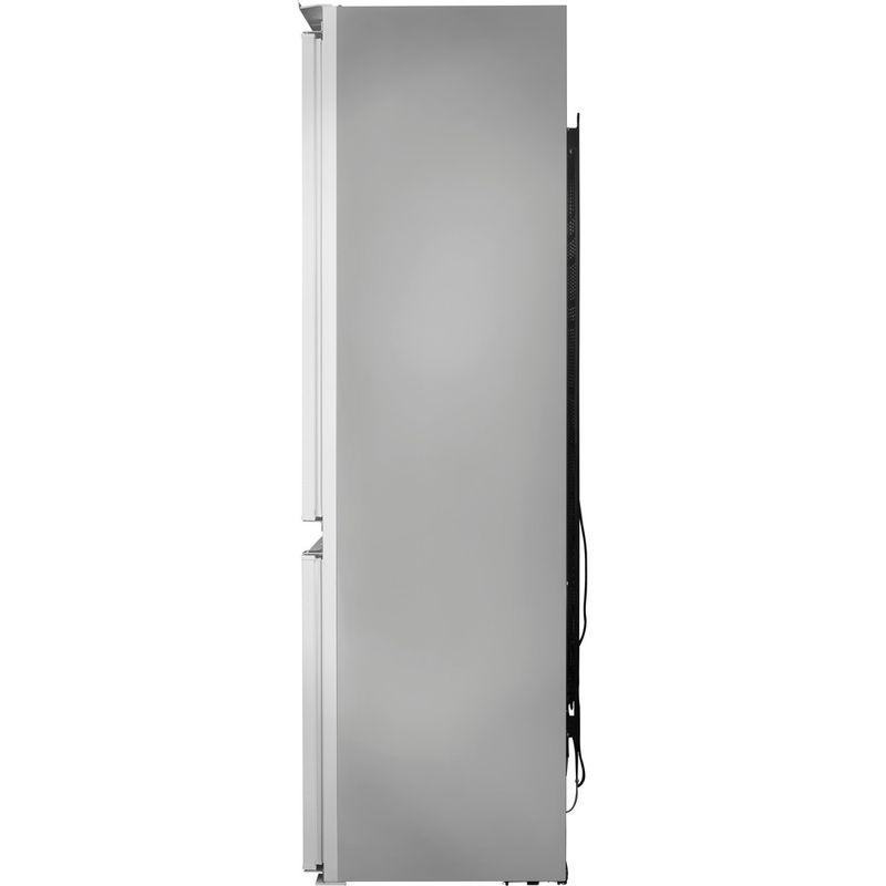 Hotpoint-Fridge-Freezer-Built-in-HMCB-7030-AA.UK.1-White-2-doors-Back---Lateral