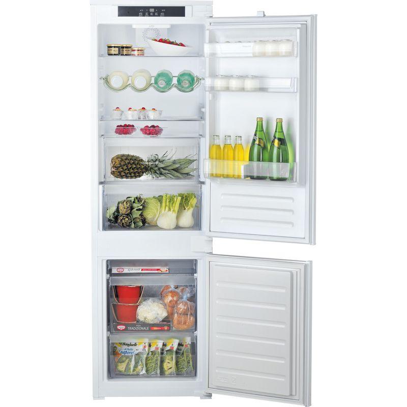 Hotpoint-Fridge-Freezer-Built-in-HM-7030-E-C-AA-O3.1-White-2-doors-Frontal-open