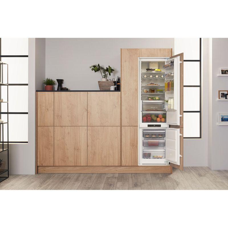 Hotpoint-Fridge-Freezer-Built-in-BCB-8020-AA-F-C.1-White-2-doors-Lifestyle-frontal-open