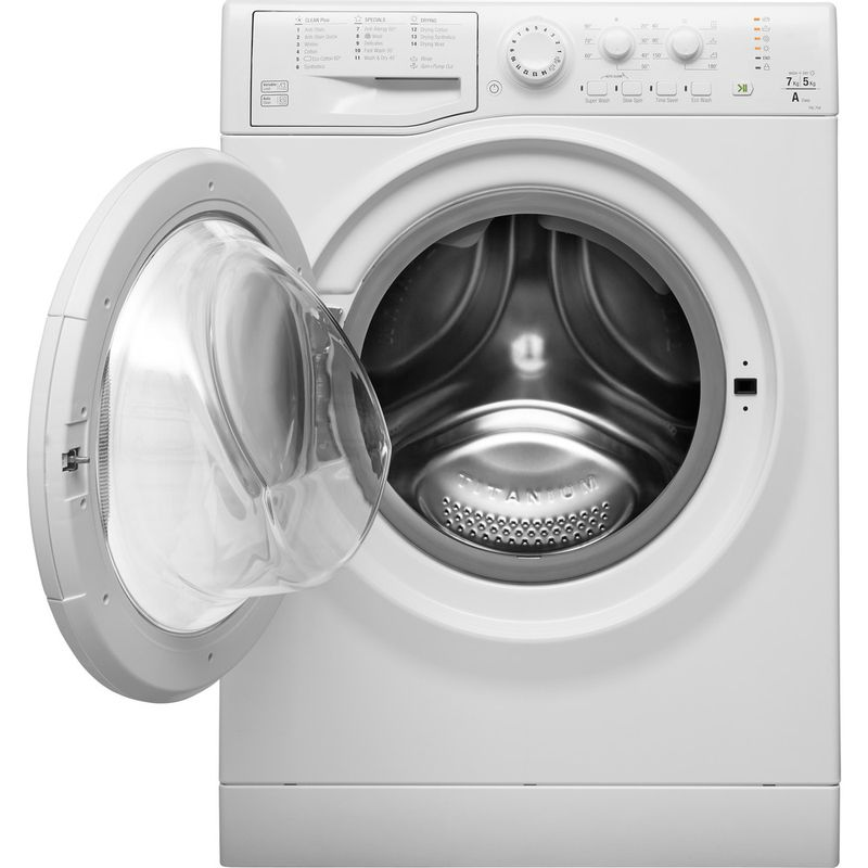 Hotpoint-Washer-dryer-Free-standing-FDL-754-P-UK-White-Front-loader-Frontal-open