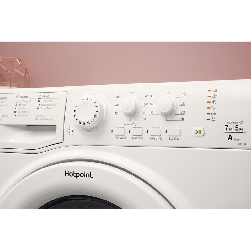 Hotpoint-Washer-dryer-Free-standing-FDL-754-P-UK-White-Front-loader-Lifestyle-control-panel