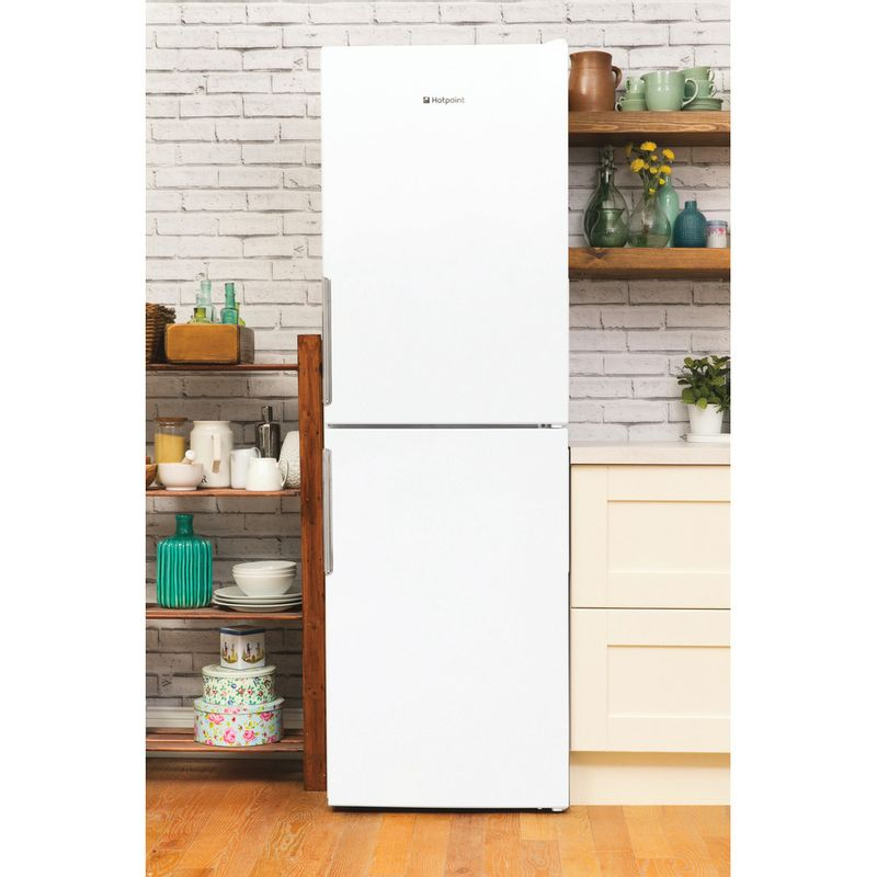 Hotpoint-Fridge-Freezer-Free-standing-LEX85-N1-W.1-White-2-doors-Lifestyle-frontal