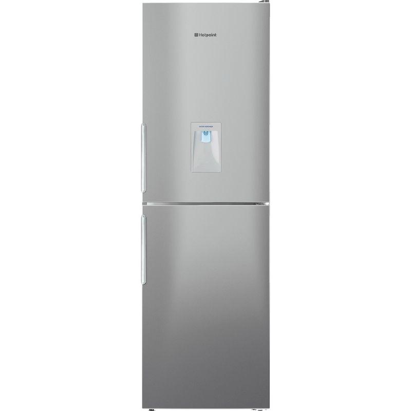 Hotpoint-Fridge-Freezer-Free-standing-XAL85-T1I-G-WTD.1-Graphite-2-doors-Frontal