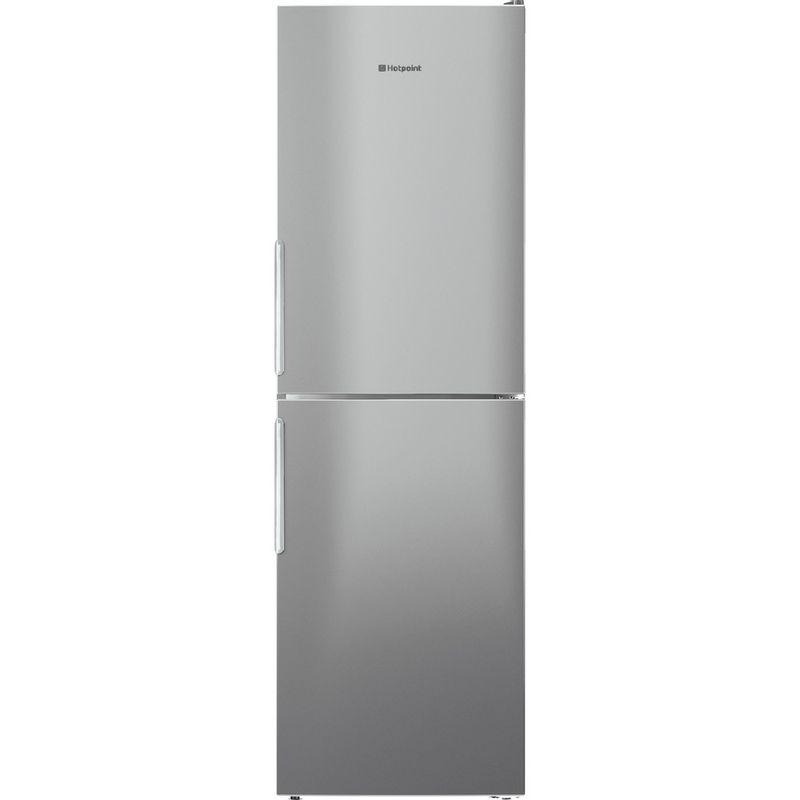 Hotpoint-Fridge-Freezer-Free-standing-XECO95-T2I-GH.1-Graphite-2-doors-Frontal
