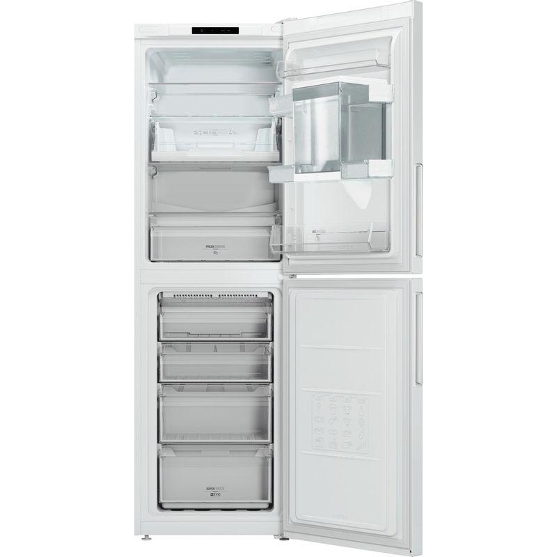 Hotpoint-Fridge-Freezer-Free-standing-LAL85-FF1I-W-WTD.1-White-2-doors-Frontal-open