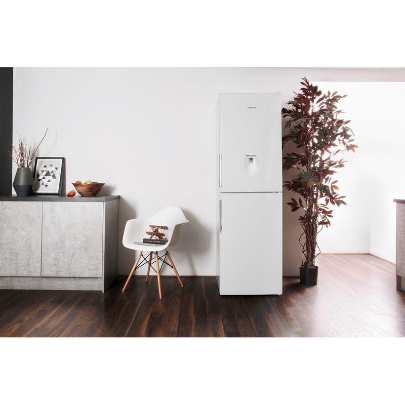 Hotpoint-Fridge-Freezer-Free-standing-LAL85-FF1I-W-WTD.1-White-2-doors-Lifestyle-frontal