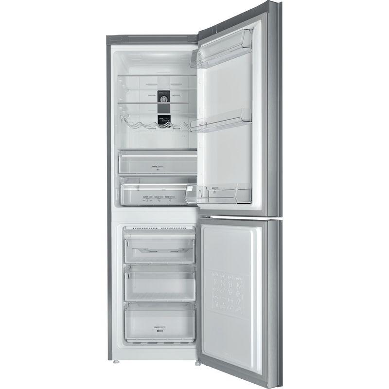 Hotpoint-Fridge-Freezer-Free-standing-XUL8-T2Z-XOV.1-Inox-2-doors-Frontal_Open