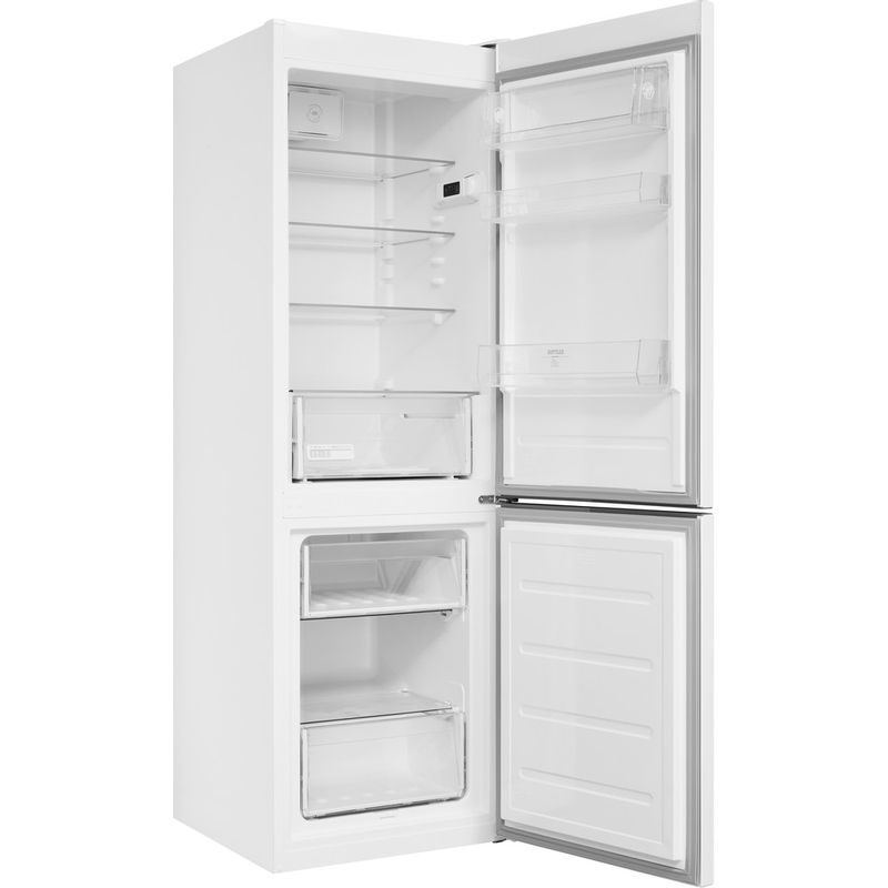 Hotpoint-Fridge-Freezer-Free-standing-H8-A1E-W-UK.1-White-2-doors-Perspective-open