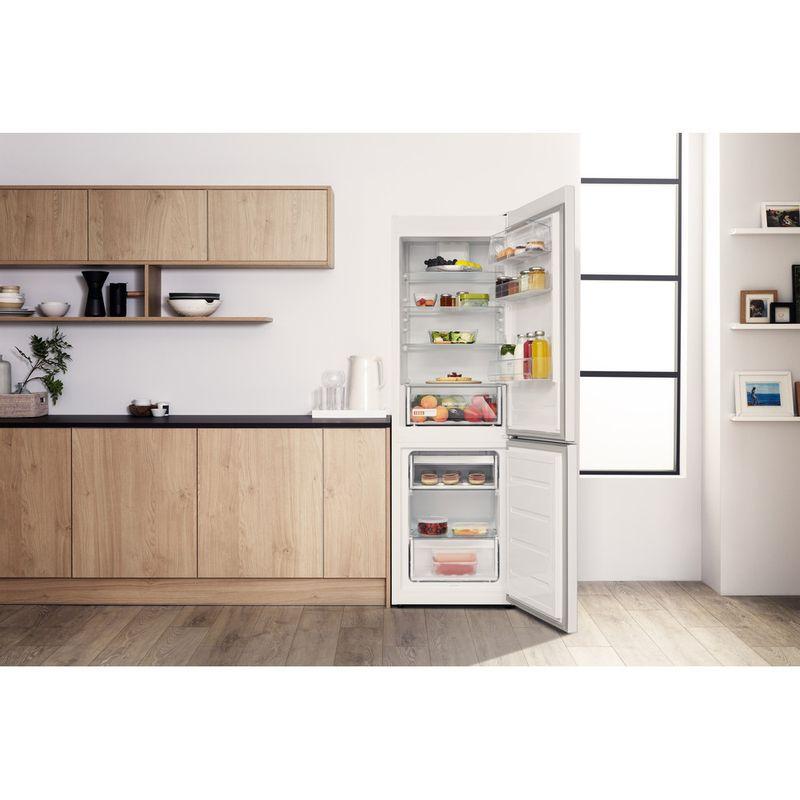 Hotpoint-Fridge-Freezer-Free-standing-H8-A1E-W-UK.1-White-2-doors-Lifestyle-frontal-open