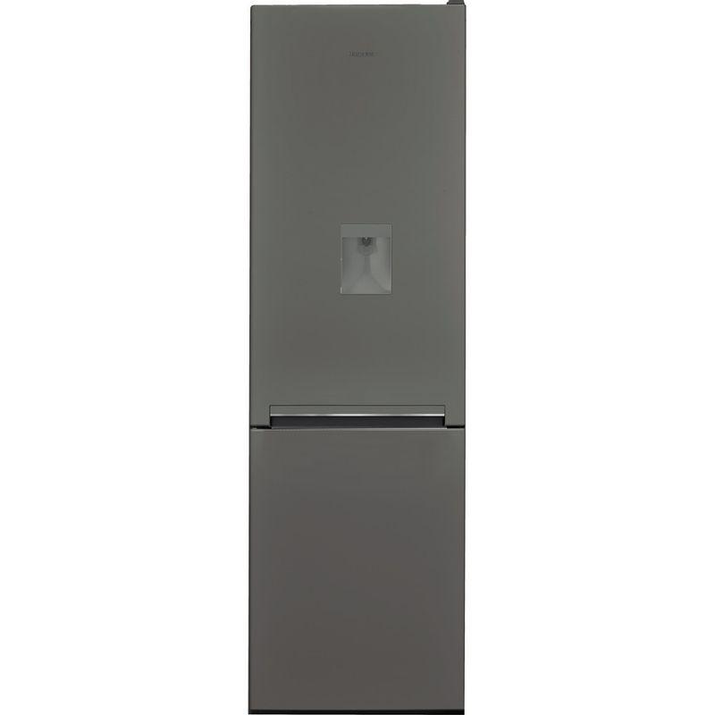 Hotpoint-Fridge-Freezer-Free-standing-H8-A1E-SB-WTD-UK.1-Silver-Black-2-doors-Frontal